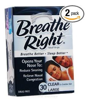 Do breathe right strip work