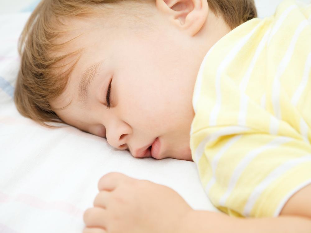snoring kid